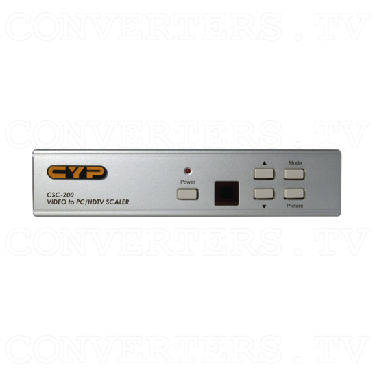 Magic View Video Scaler / Deinterlacer CSC-200 - Front View