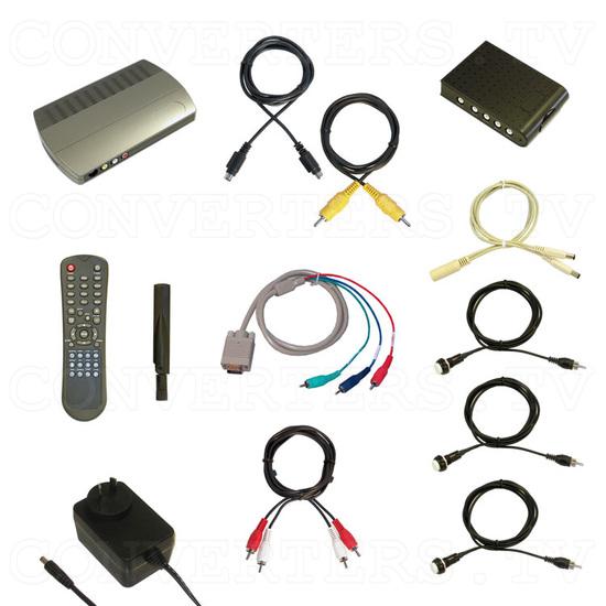 High Definition Digital WiFi Media Player 1080P-1 - Full Kit