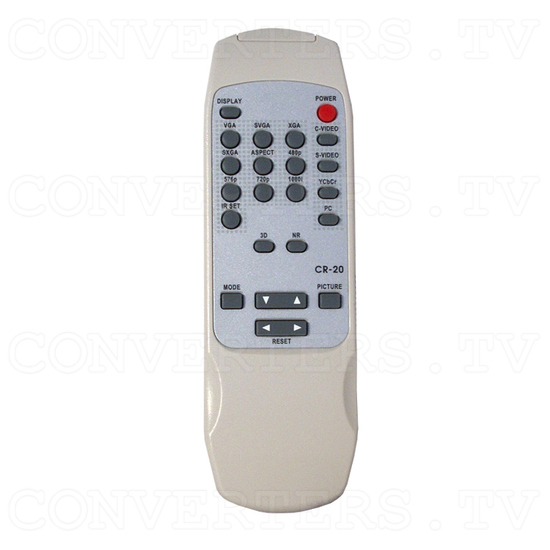 Magic View Video Scaler / Deinterlacer CSC-200 - Remote Control