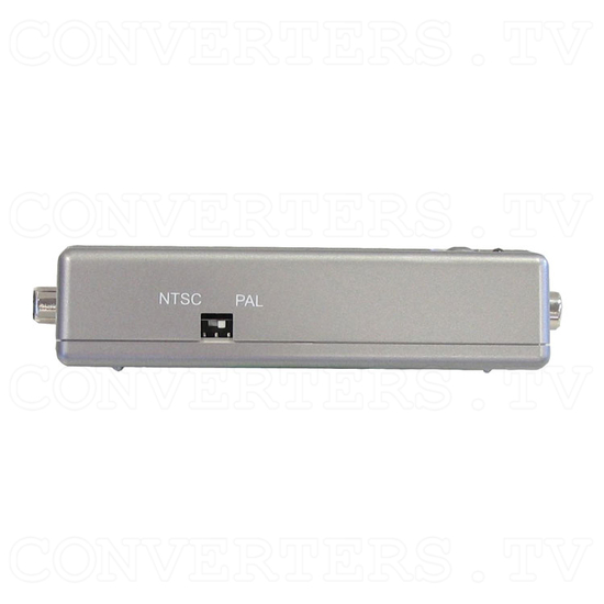 VGA PC to PAL-NTSC Video Converter - Left View