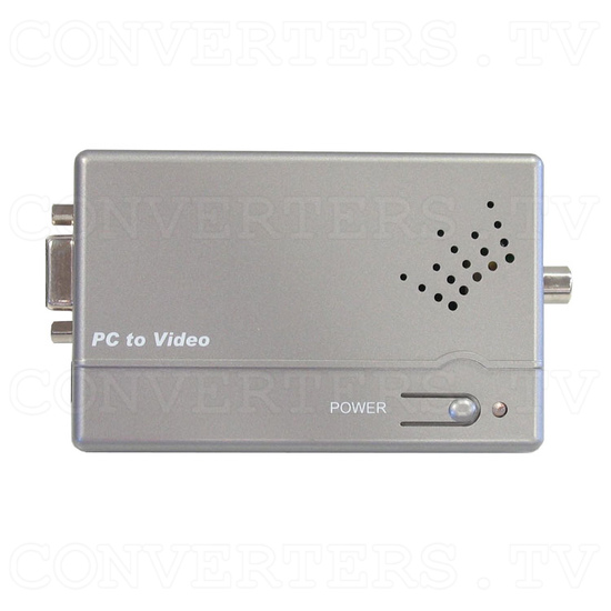 VGA PC to PAL-NTSC Video Converter - Top View