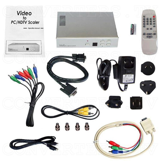 Magic View Video Scaler / Deinterlacer CSC-200 - Full Kit
