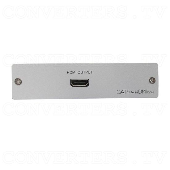 HDMI Video Receiver over Cat5 Cable - 150m - Front View