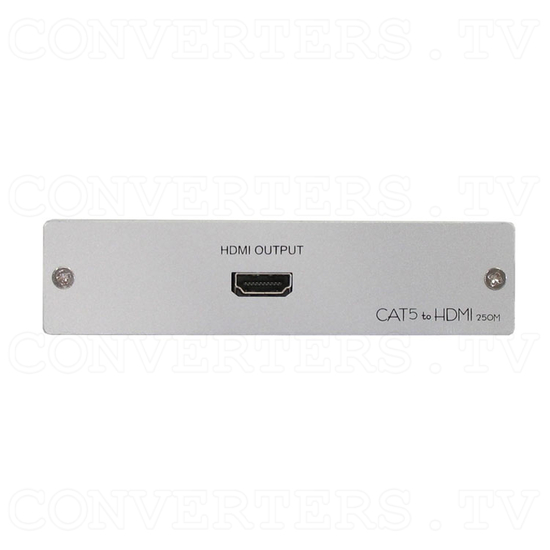 HDMI Video Receiver over Cat5 Cable - 250m - Front View