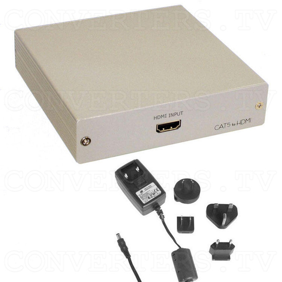 HDMI Video Transmitter over Cat5 Cable - 50m to 250m - Full Kit