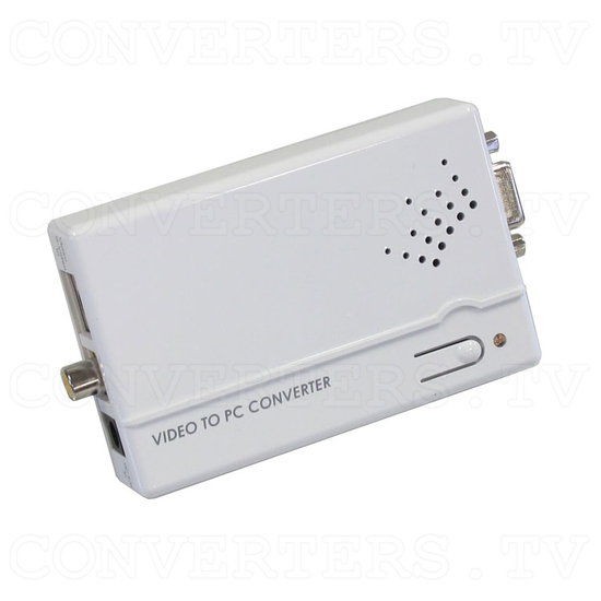 PAL-NTSC Video to WXGA Scaler Converter - Full View