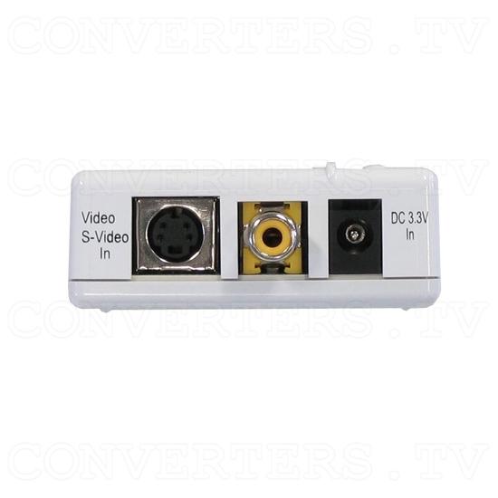 PAL-NTSC Video to WXGA Scaler Converter - Back View