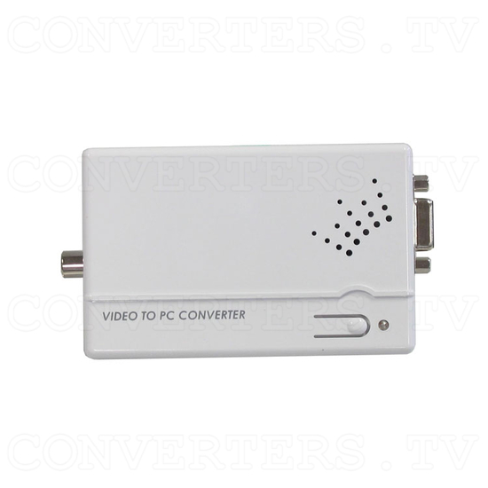 PAL-NTSC Video to WXGA Scaler Converter - Top View