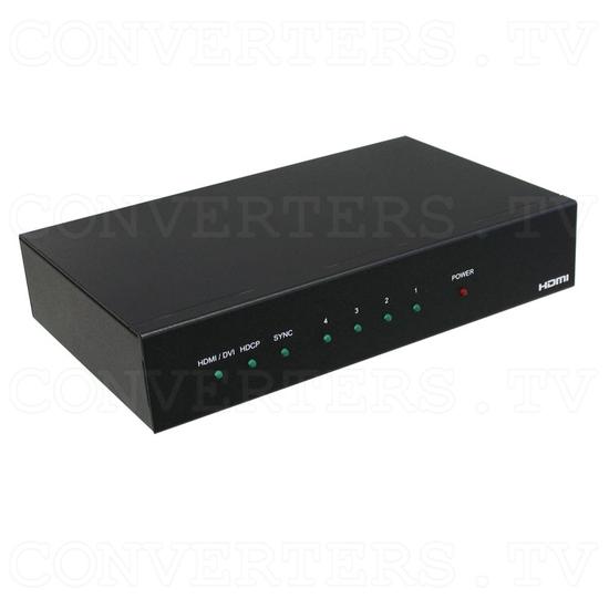 HDMI Splitter-Extender 1 input - 4 output - Full View