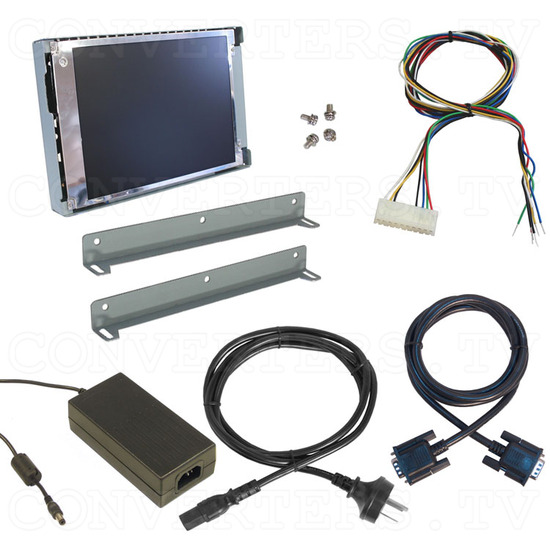 8.4 inch CGA EGA VGA to SVGA LCD Monitor - Full Kit