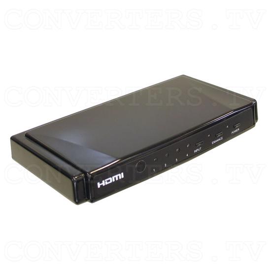 HDMI Switch 4 input - 1 output Non-Metallic - Full View