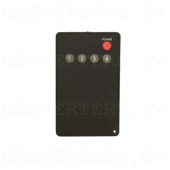 HDMI Switch 4 input - 1 output Non-Metallic - Remote