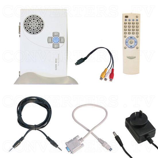 GADMEI - XGA-PC TV Video Selector Box - V210 - Full Kit