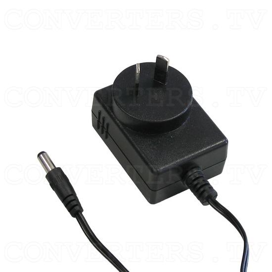 UHF/VHF TV Channel Converter - Power Supply 110v OR 240v