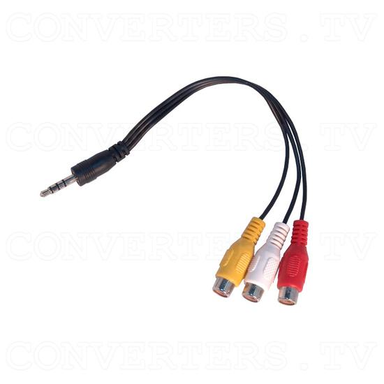 UHF/VHF TV Channel Converter - Line Jack to AV video and stereo