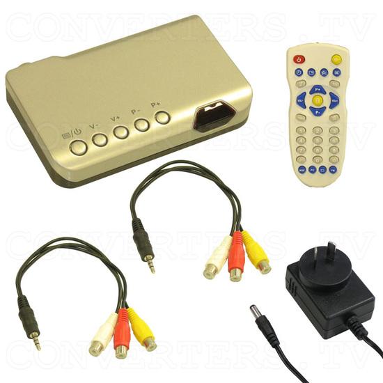 UHF/VHF TV Channel Converter - Full Kit
