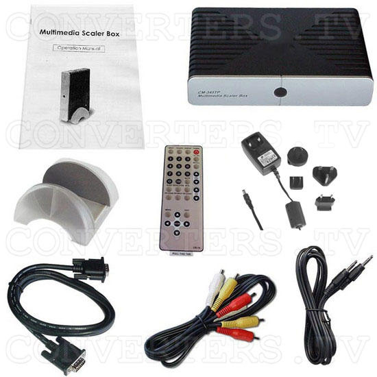 PAL to XGA PC TUNER BOX (CM-345T) - Full Kit