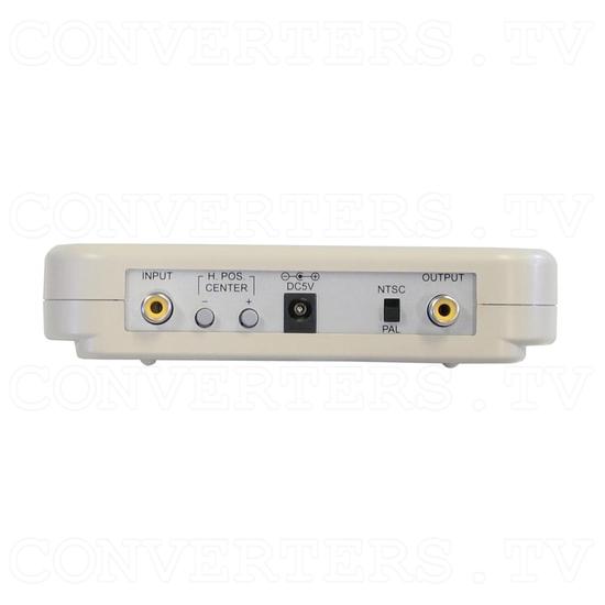 PAL-NTSC-SECAM Video to PAL-NTSC Video Converter - Back View
