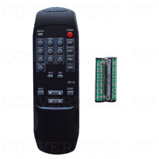Professional Video Scaler (CSC-1600HD) - Remote Control