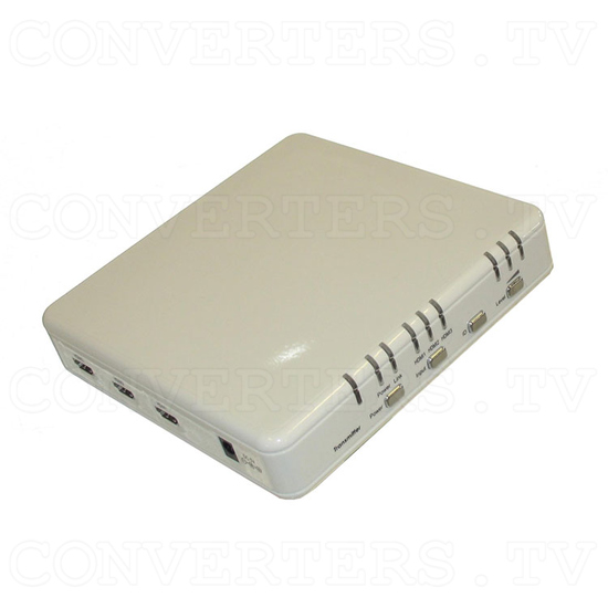 Wireless HDMI Transmitter and Wireless HDMI Receiver - Transmitter Full View