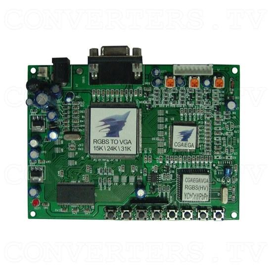 TATC - RGBS to VGA Converter 15K, 24K, 31K - Top View