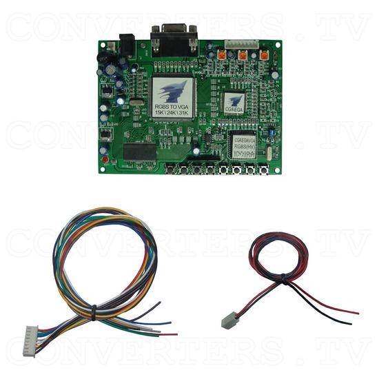 TATC - RGBS to VGA Converter 15K, 24K, 31K - Full Kit