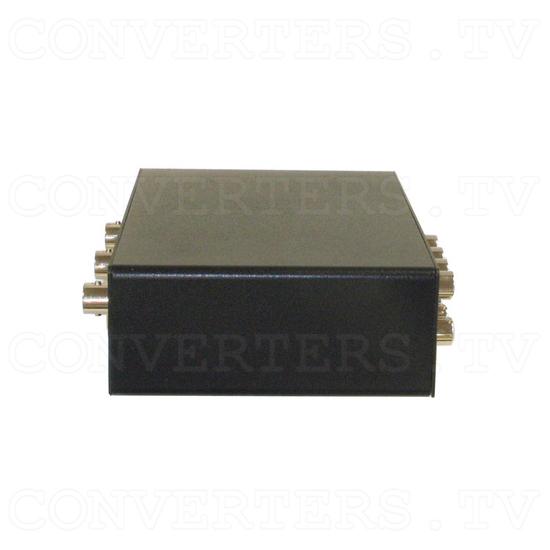 Video CV-SV Distributor 1 input : 3 output (w/Audio) - Side View