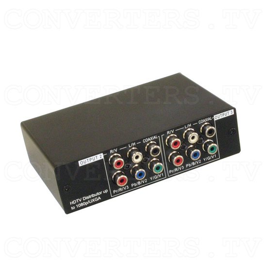 HD-SD Distributor 1 input : 3 output w/Digital & Analog Audio - Full View