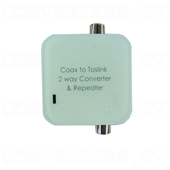 CO-AX Toslink 2 Way Converter - Top View