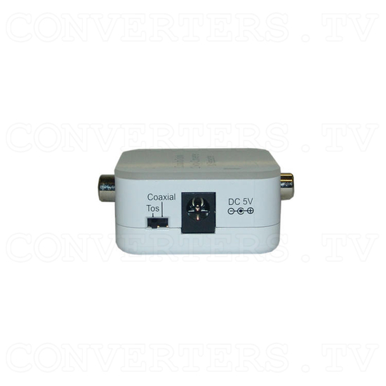 CO-AX Toslink 2 Way Converter - Side 1