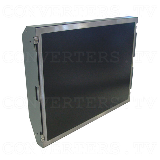 15 Inch CGA EGA VGA to XGA Wide Viewing-Angle LCD Monitor - Full View