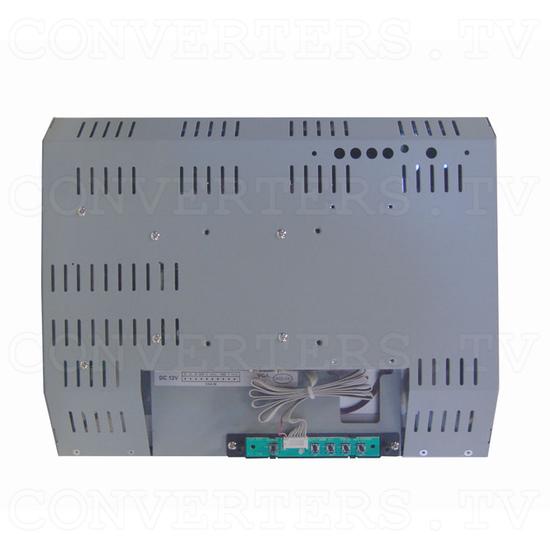 15 Inch CGA EGA VGA to XGA Wide Viewing-Angle LCD Monitor - Back View
