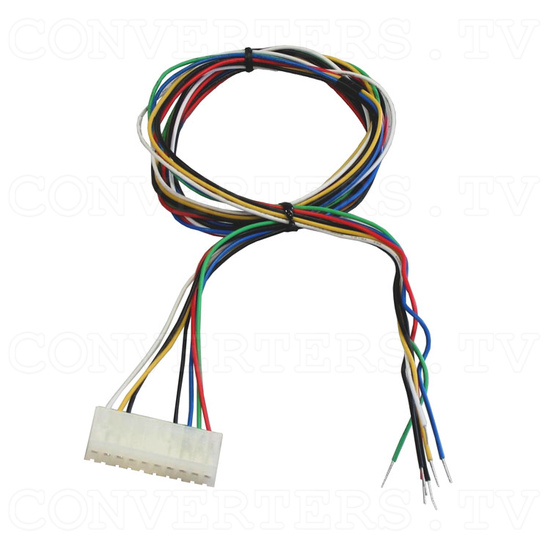 15 Inch CGA EGA VGA to XGA Wide Viewing-Angle LCD Monitor - 10 pin CGA cable