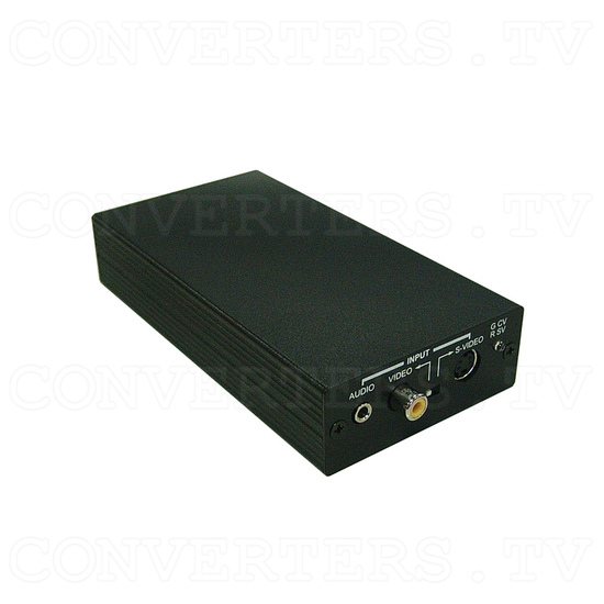Video / S-Video to HDMI Scaler Box - Full View