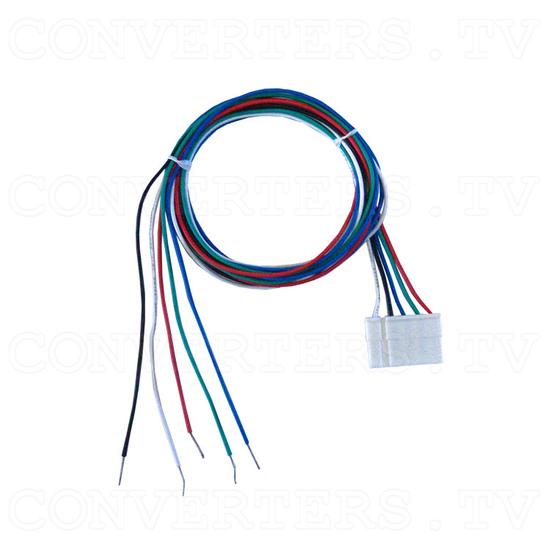 RGB - CGA, EGA, HD to VGA Converter - 5 Pin RGB Cable