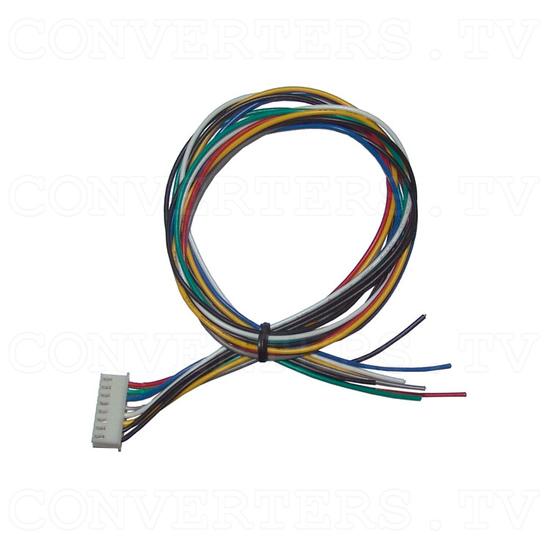 RGB - CGA, EGA, HD to VGA Converter - 8 pin RGB cable