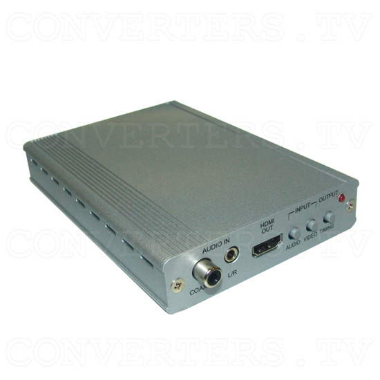 DVI PC/HD to HDMI 720p/1080p Scaling Converter - Full View