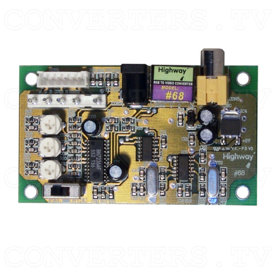 RGB to Video Converter - Top View