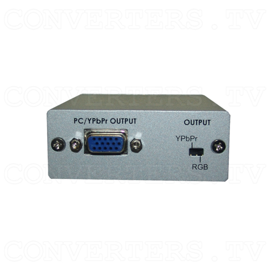 DVI to PC/HD Converter - Front View