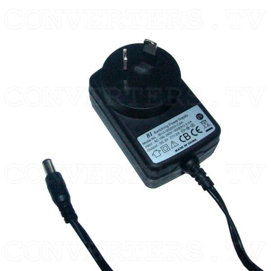 100-240VAC to 5V DC 2A Switch Mode Power Supply Centre Positive -  Aus Plug - Power Supply 110v OR 240v
