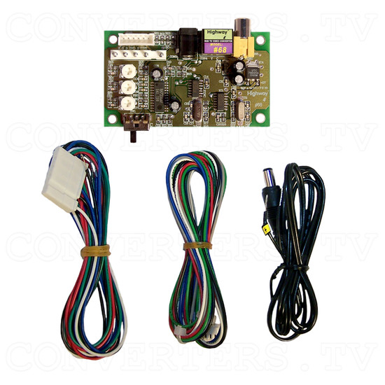 RGB to Video Converter - Full Kit