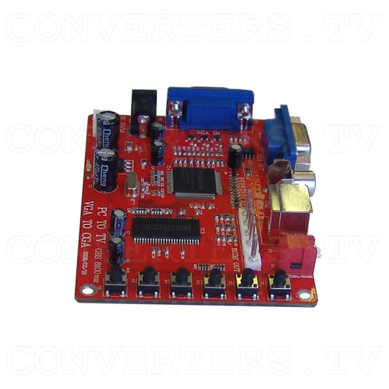 GONBES - VGA PC to Video-CGA converter - Front View