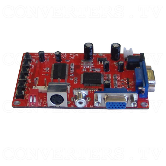 GONBES - VGA PC to Video-CGA converter - Left View
