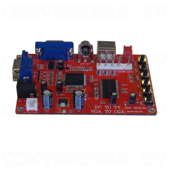 GONBES - VGA PC to Video-CGA converter - Right View