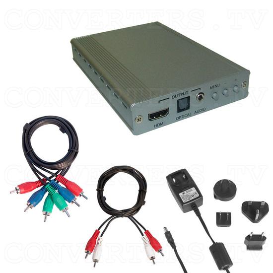 HD to HDMI 1080p Scaler Box - Full Kit