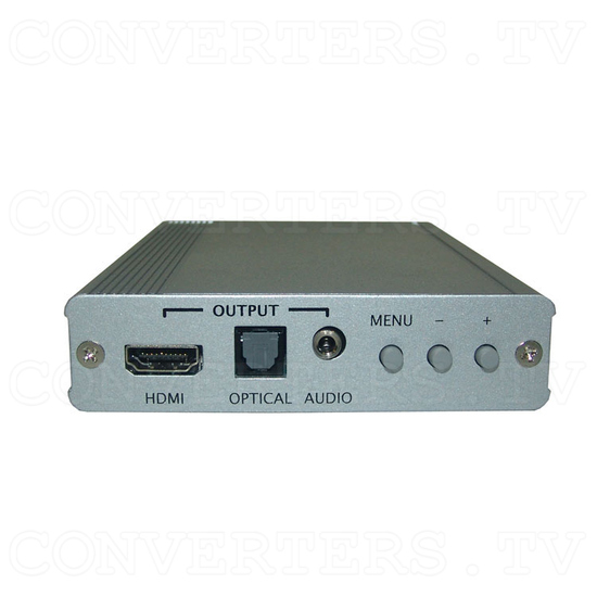 PC to HDMI 1080p Scaler Box - Front View