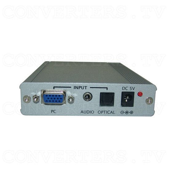 PC to HDMI 1080p Scaler Box - Back View