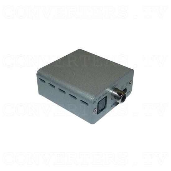 Stereo to SPDIF audio delay Converter Box - Full View