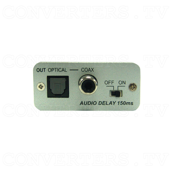 Stereo to SPDIF audio delay Converter Box - Front View