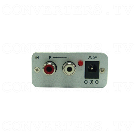 Stereo to SPDIF audio delay Converter Box - Back View